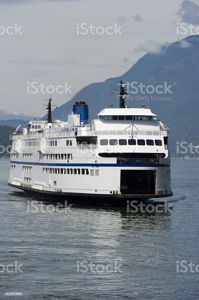 BC Ferry royalty-free stock photo