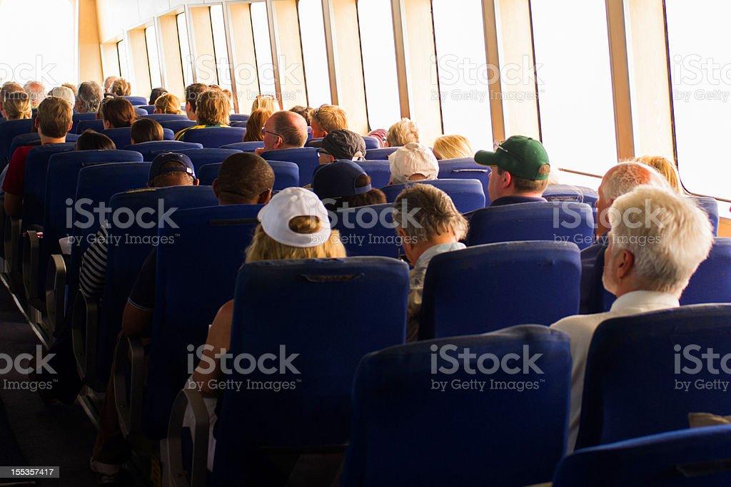 Ferry Ride stock photo