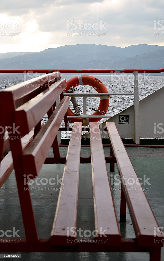 Ferryboat stock photo
