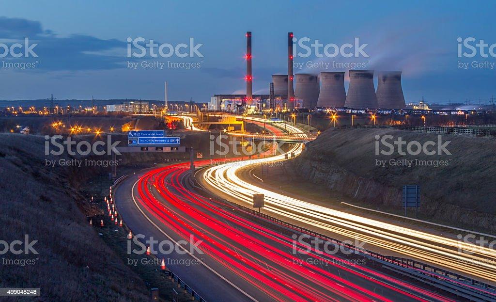 Ferrybridge Power Station stock photo