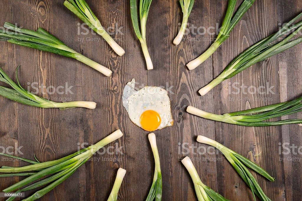 Fertilization stock photo