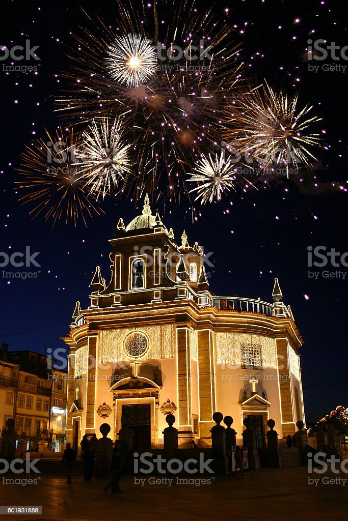 Fest in Barcelos, Portugal stock photo
