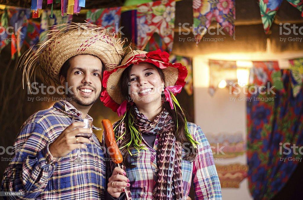 Festa Junina royalty-free stock photo