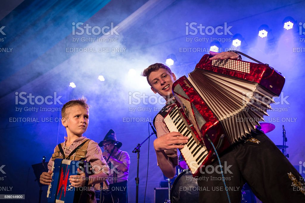 33ª Festa Pomerana - Pomerode stock photo