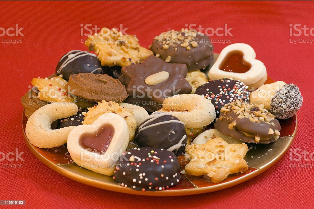 Festiv Cookies royalty-free stock photo