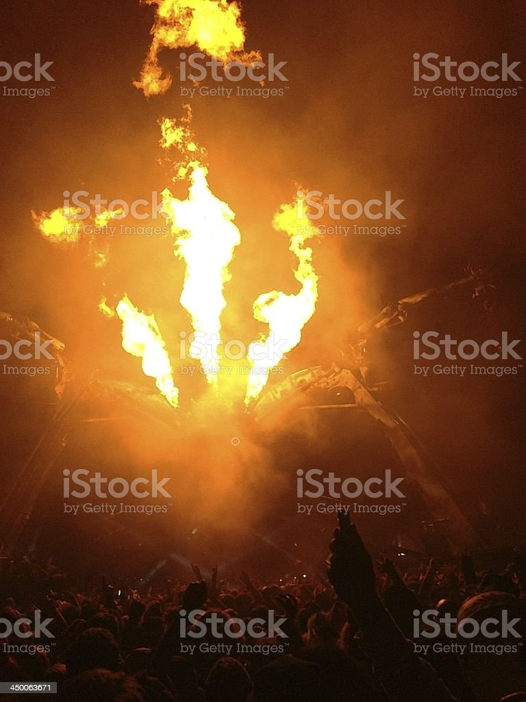 Festival Fire stock photo