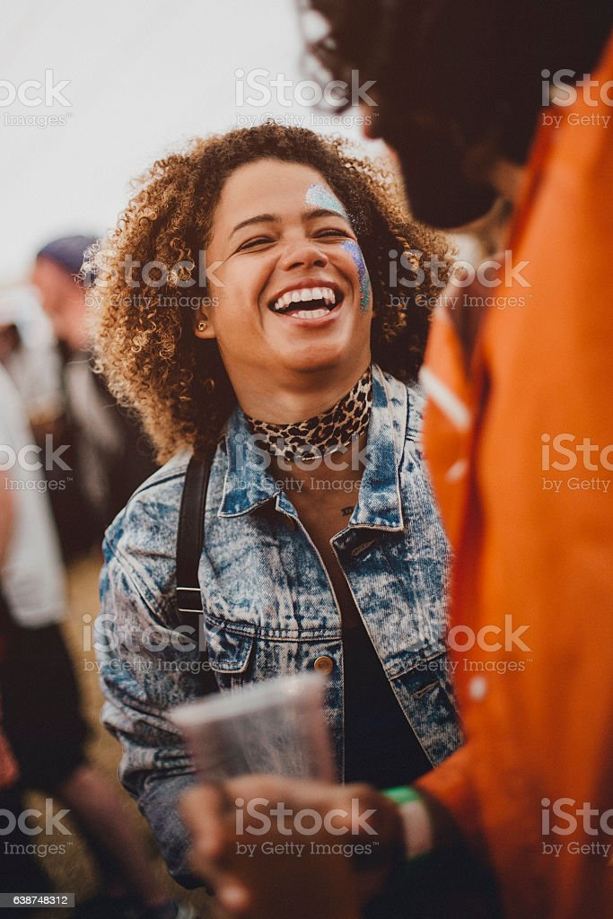 Festival Fun stock photo