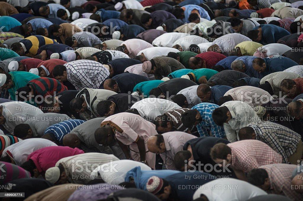 Festival of sacrifice - Eid al-Adha stock photo
