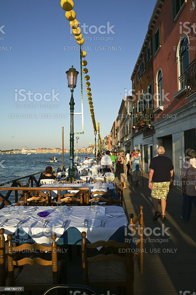 Festival of the Redeemer, Venice, Italy royalty-free stock photo