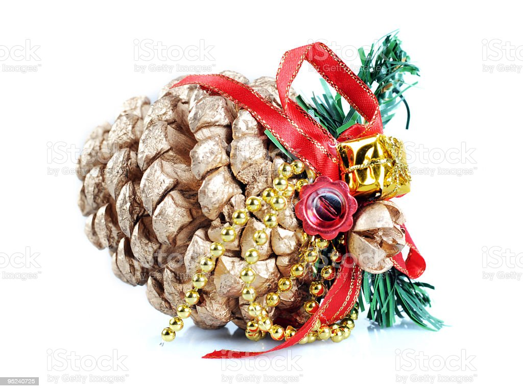 Festival Pinecone royalty-free stock photo