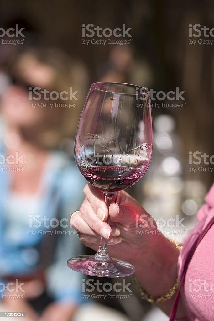 Festival Wine Tasting stock photo