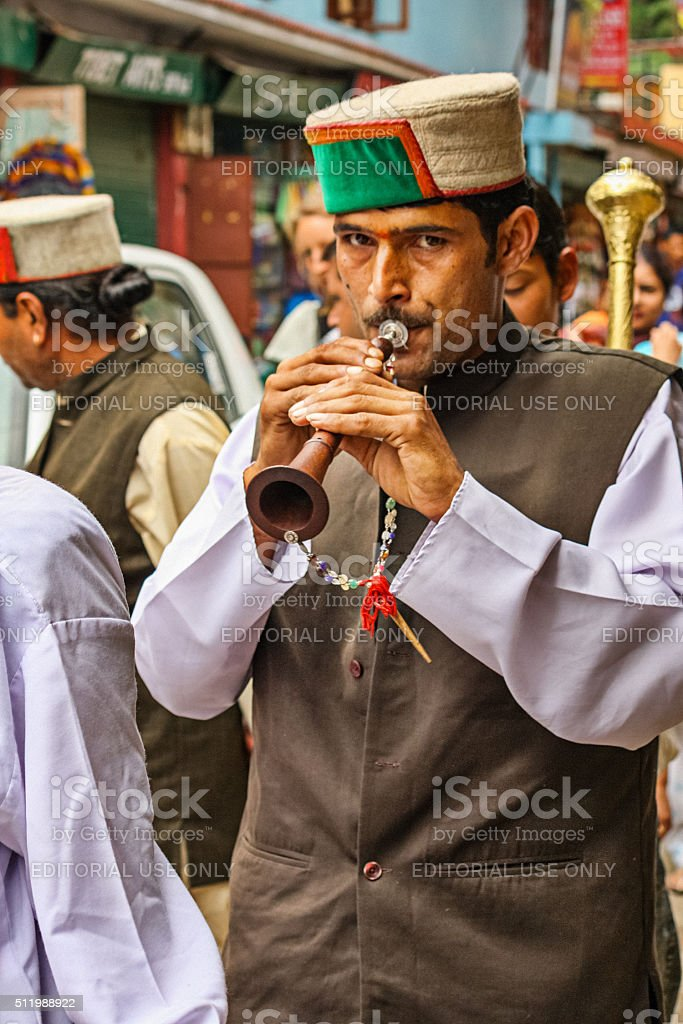 Festival with People McLeod Ganj Dharamsala India stock photo