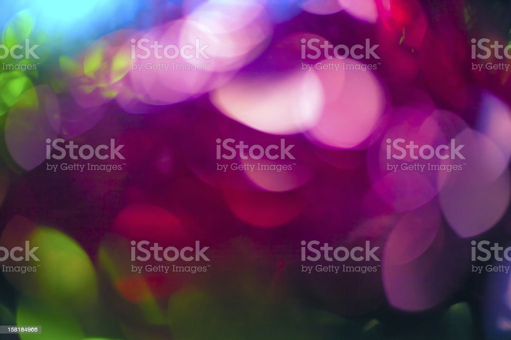 Festive abstract christmas lights as background royalty-free stock photo