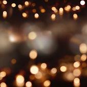 Festive background with light spots