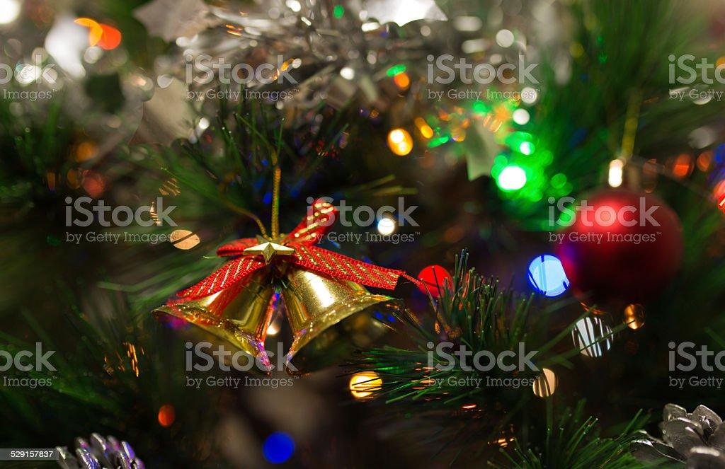 Festive Bells stock photo
