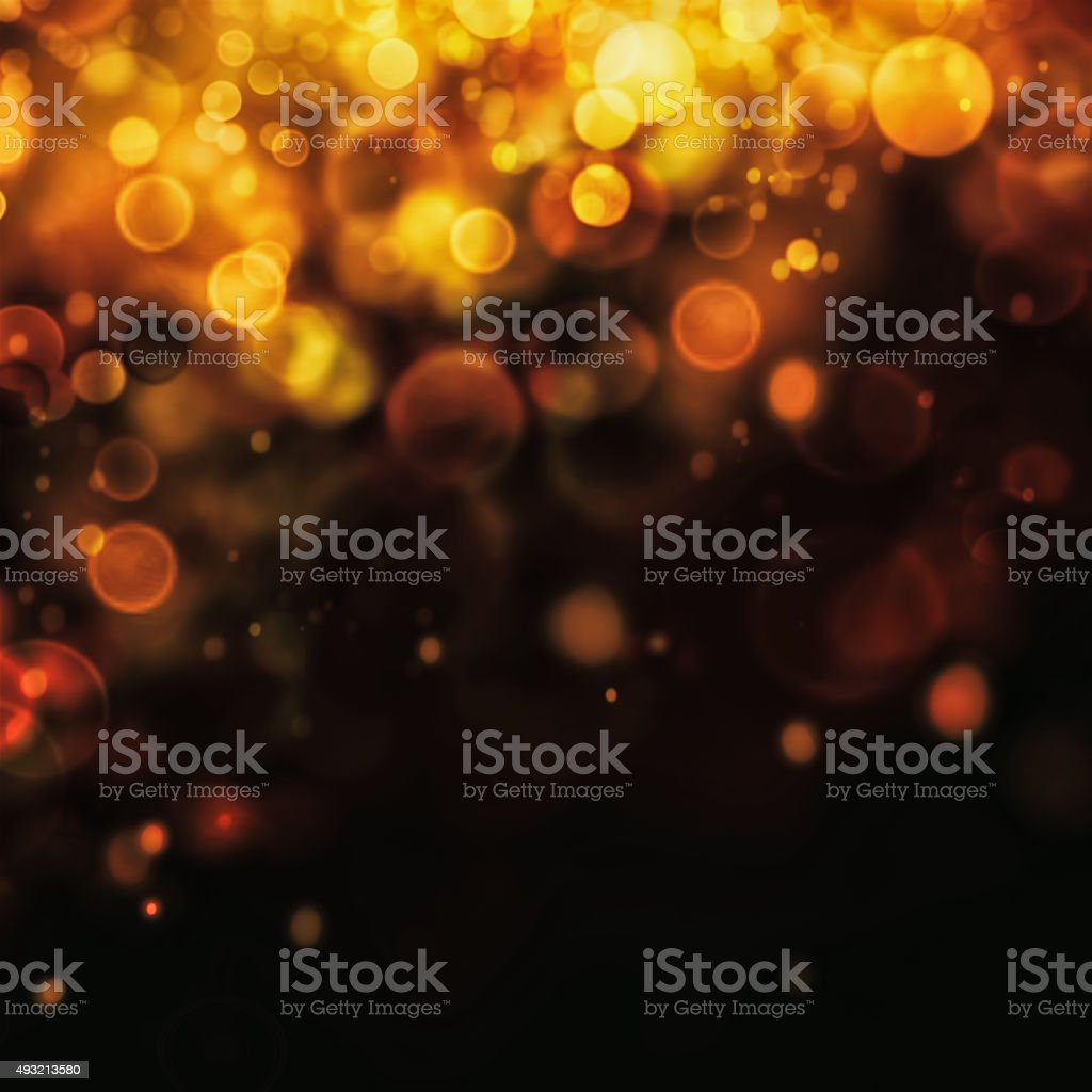 Festive bokeh background stock photo