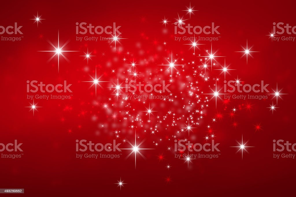 Festive bright lights background stock photo