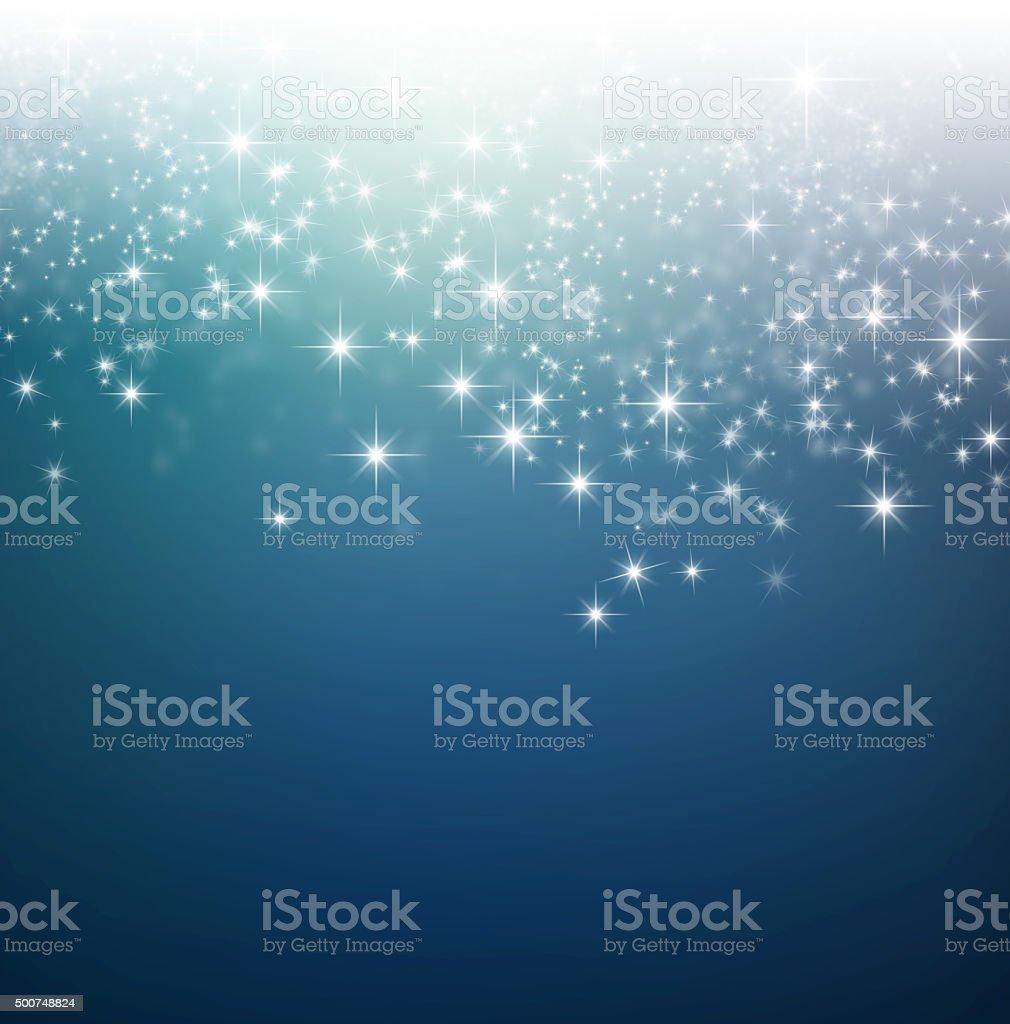 Festive bright lights background stock photo