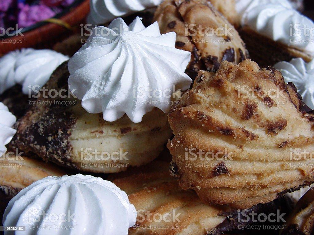Gâteaux de fête photo libre de droits