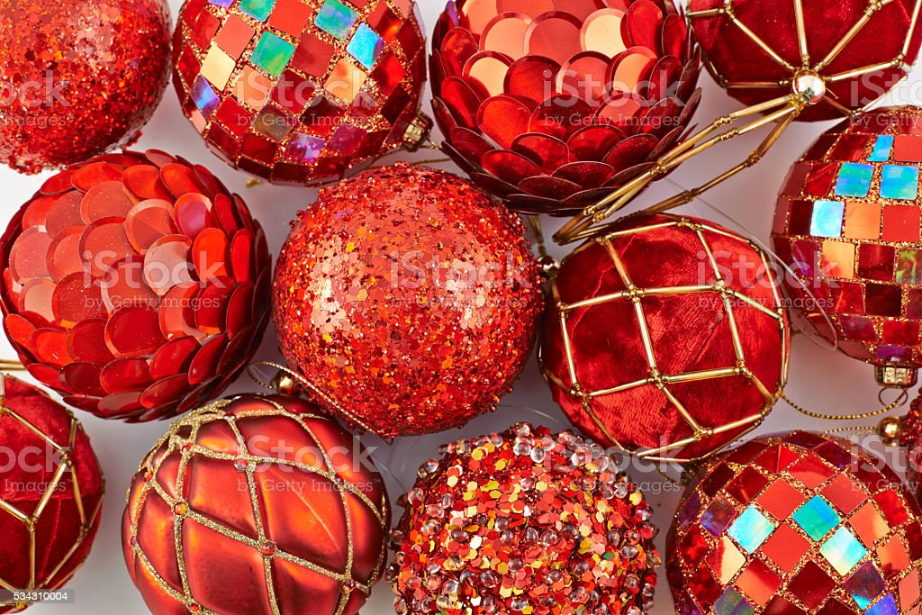 Festive Christmas background stock photo