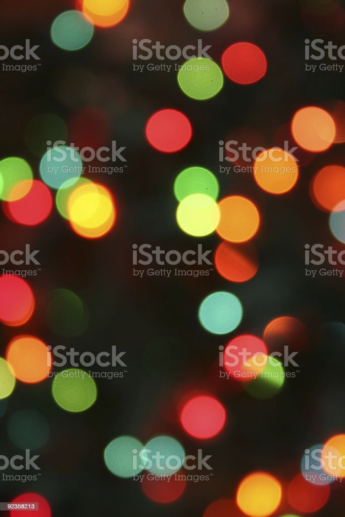 Festive Christmas light background royalty-free stock photo