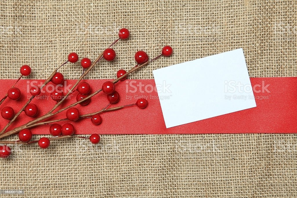 Festive contrast background with a blank white note. royalty-free stock photo