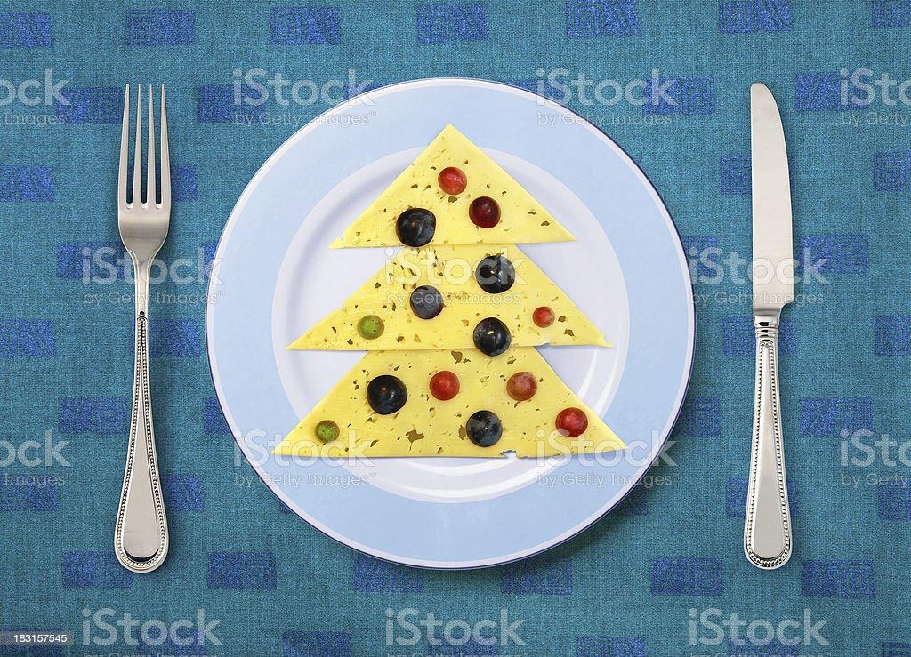 festive dish stock photo