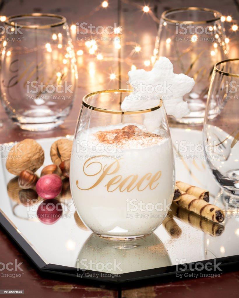 Festive drink stock photo