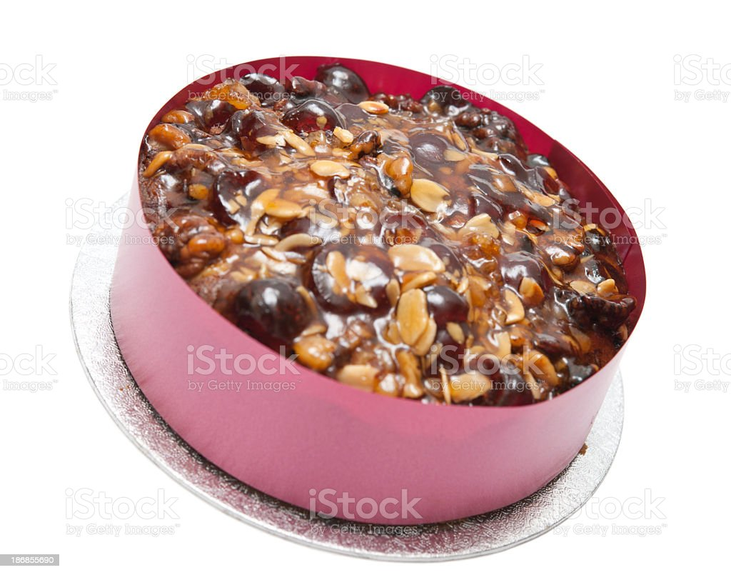 Festive Fruit Cake royalty-free stock photo