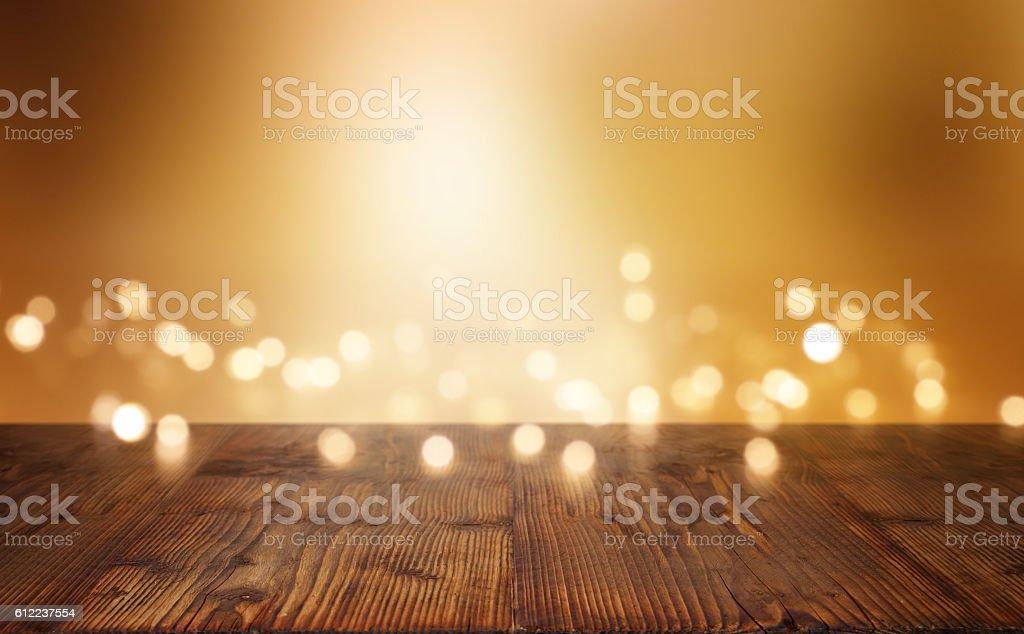 Festive illuminated background stock photo
