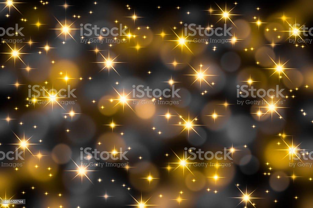 festive lights stock photo