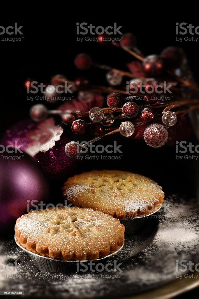 Festive Mince Pies II stock photo