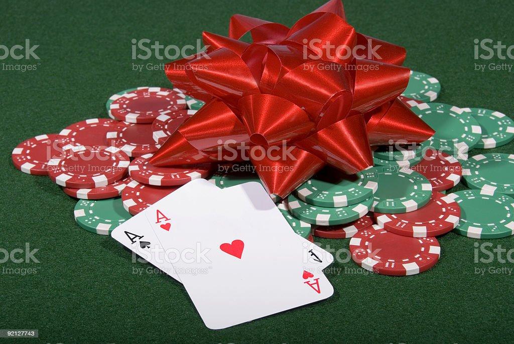 Festive Poker royalty-free stock photo