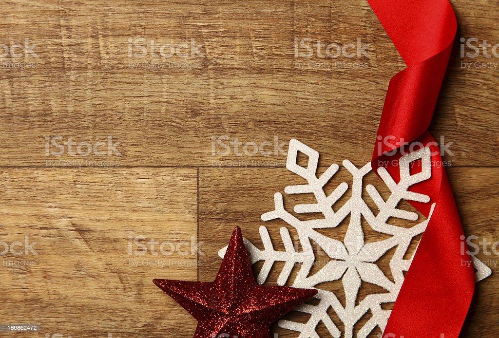 Festive seasonal background stock photo