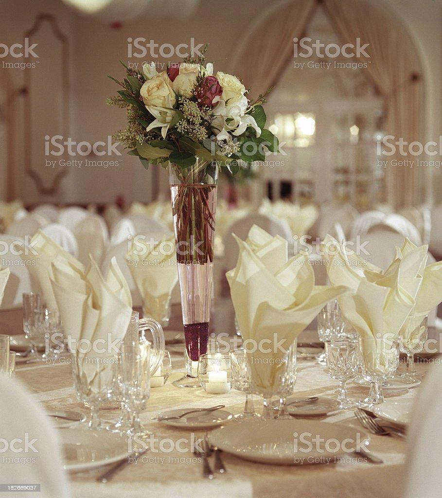 Festive Table royalty-free stock photo