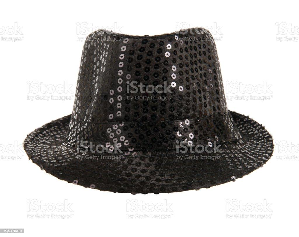 festively black hat stock photo
