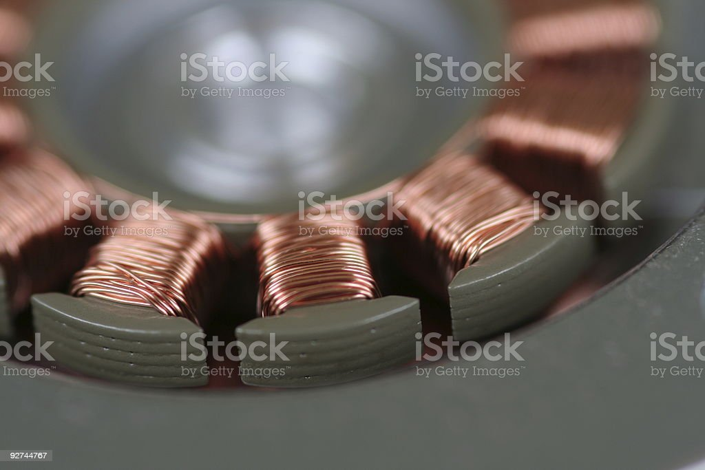 Festplattenmotor, Disc Drive Motor stock photo