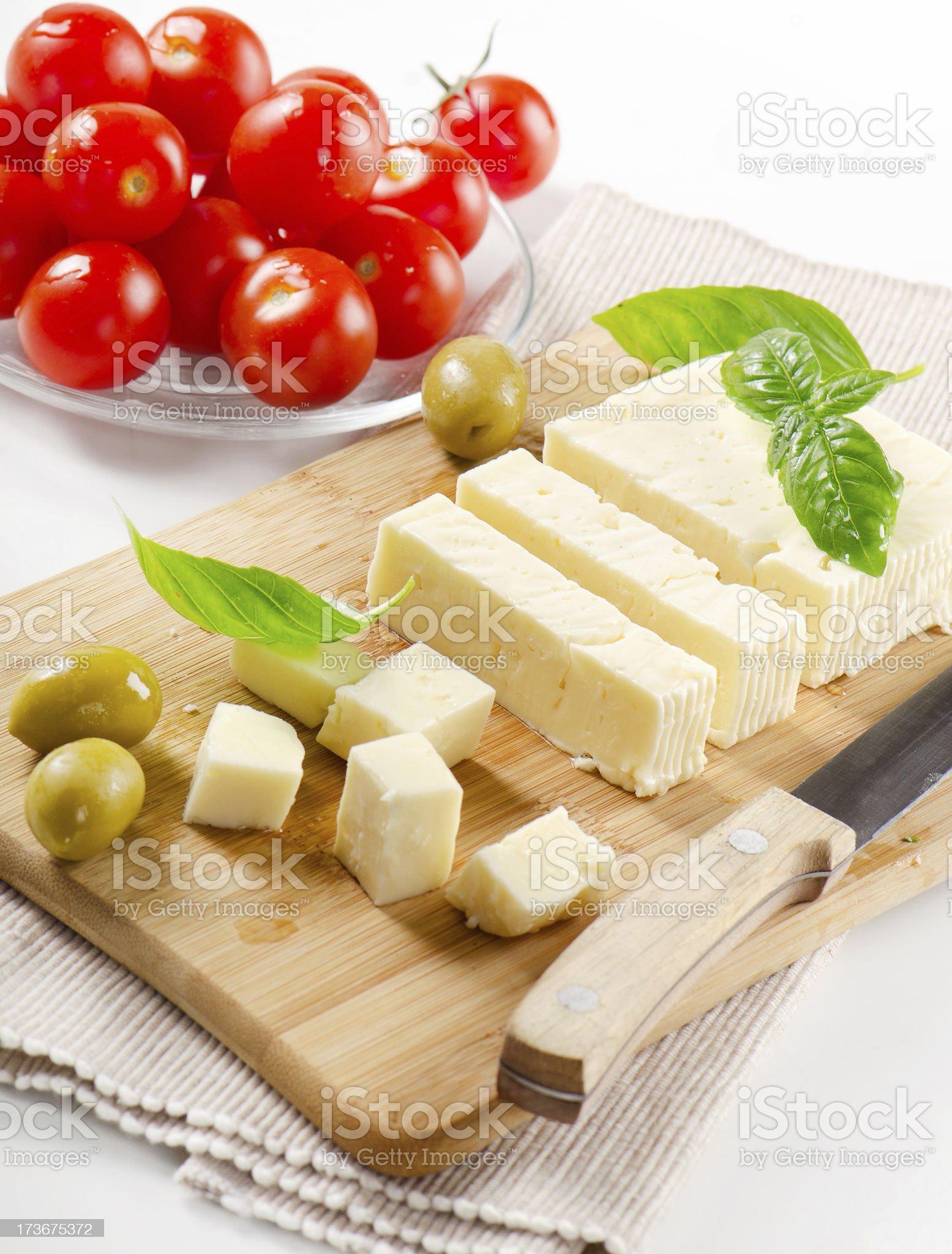 Feta cheese royalty-free stock photo