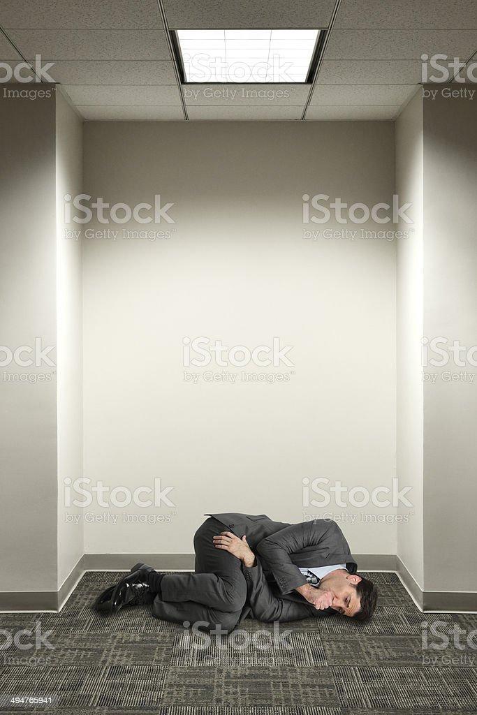 Fetal Position stock photo