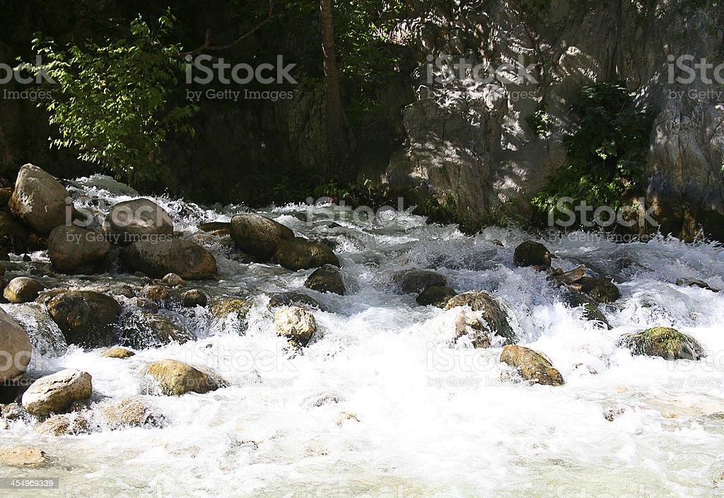 Fethiye Saklikent Gorge stock photo