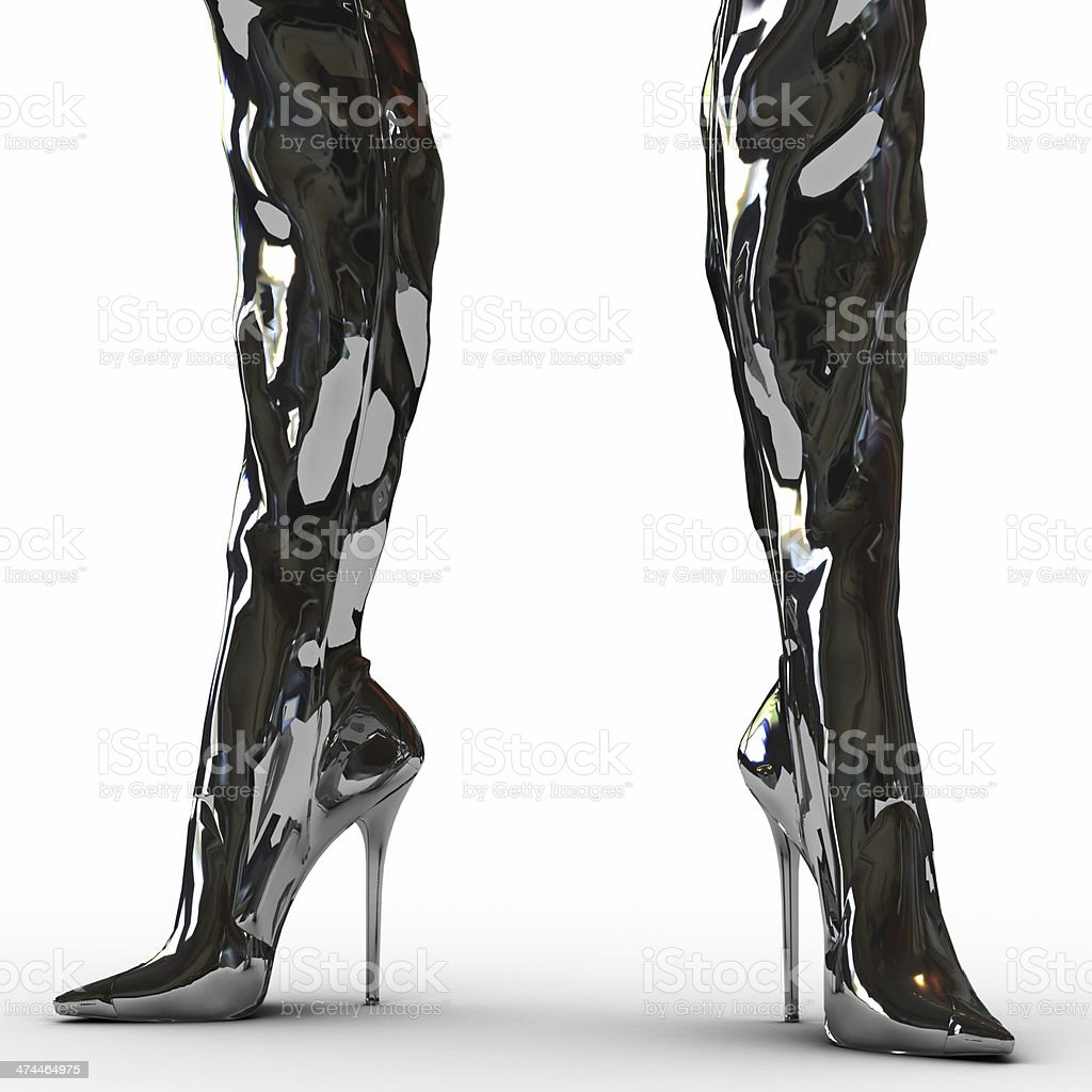 Thigh High Boot Pictures, Images and Stock Photos - iStock