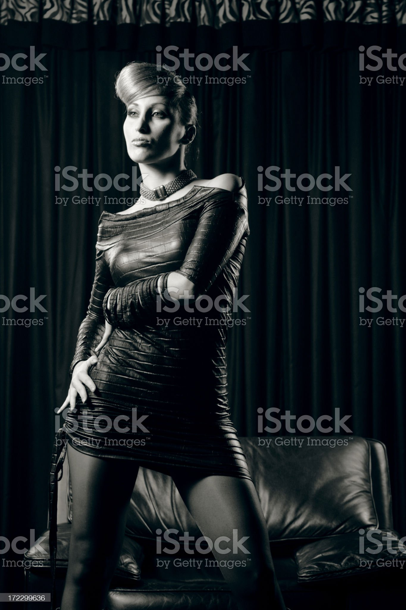 Fetish fashion royalty-free stock photo