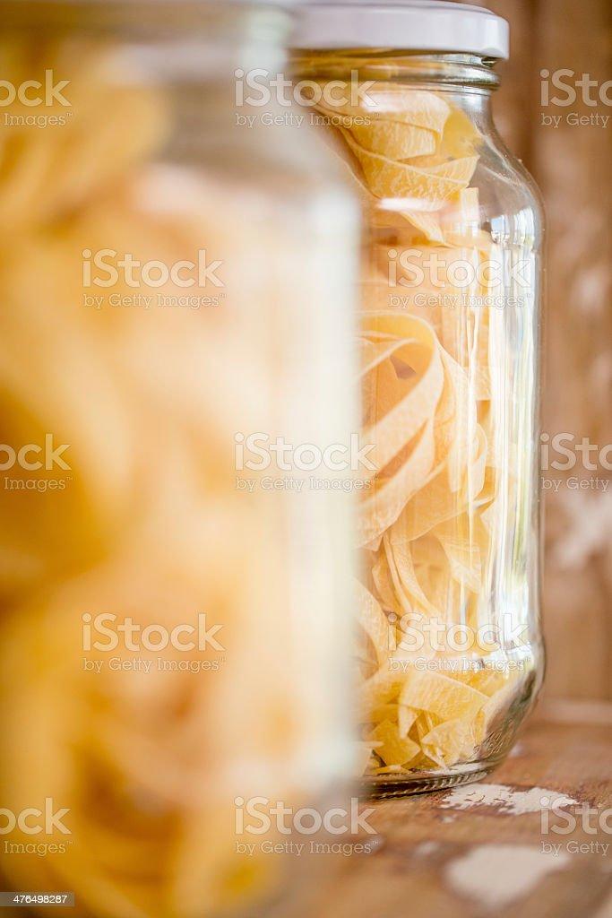 Fettuccine pasta royalty-free stock photo