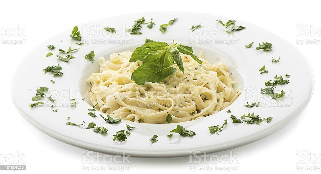 Fettucine stock photo
