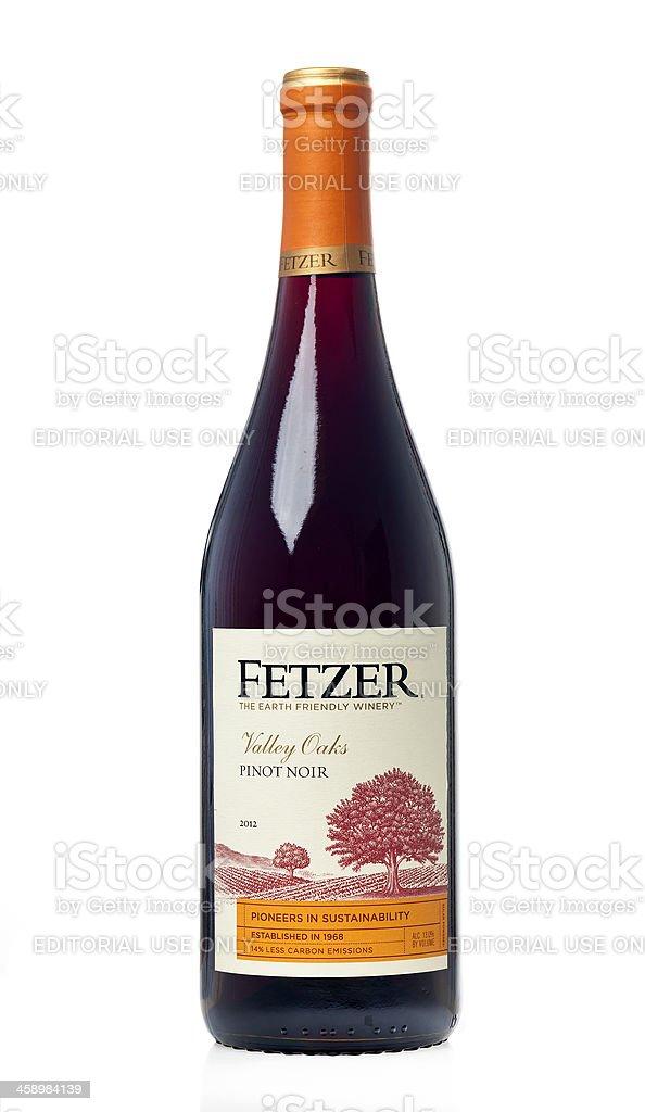 Fetzer Pinot Noir royalty-free stock photo