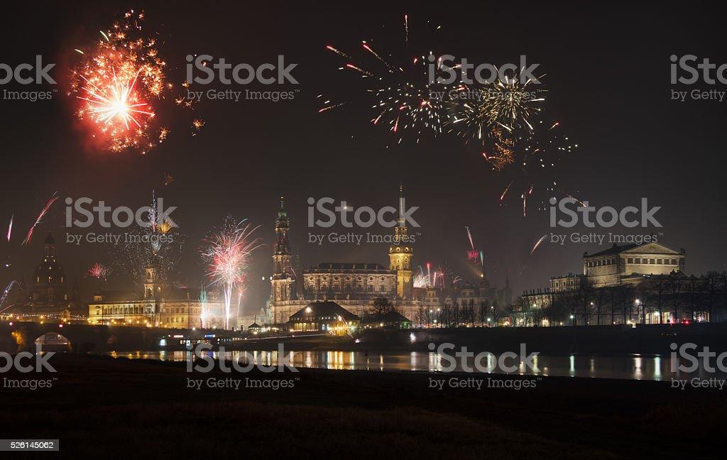 Feuerwerk stock photo