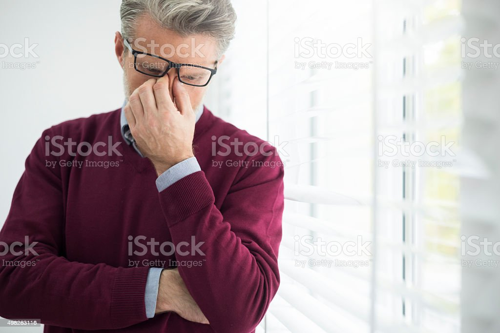 Few moments for some resting stock photo