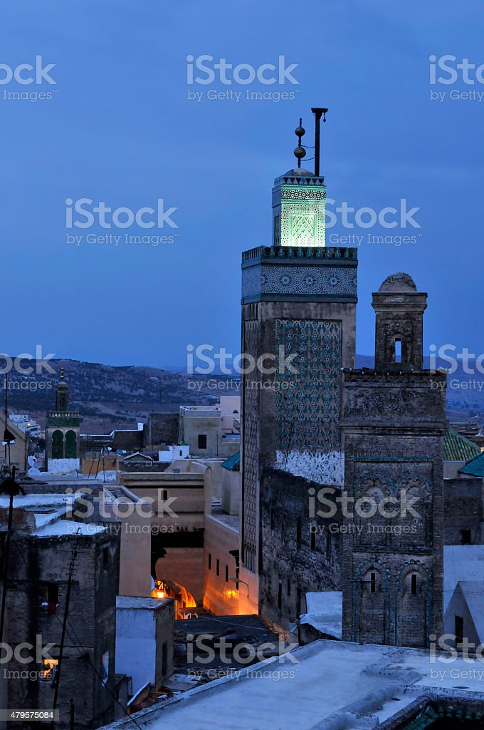 Fez Morocco stock photo
