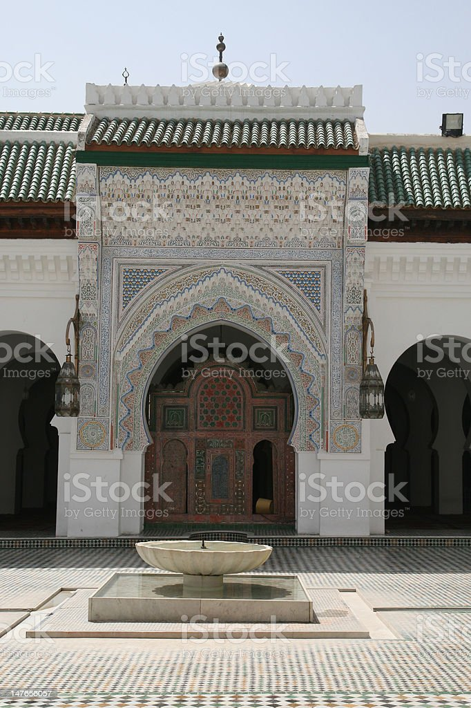 Fez Mosque royalty-free stock photo