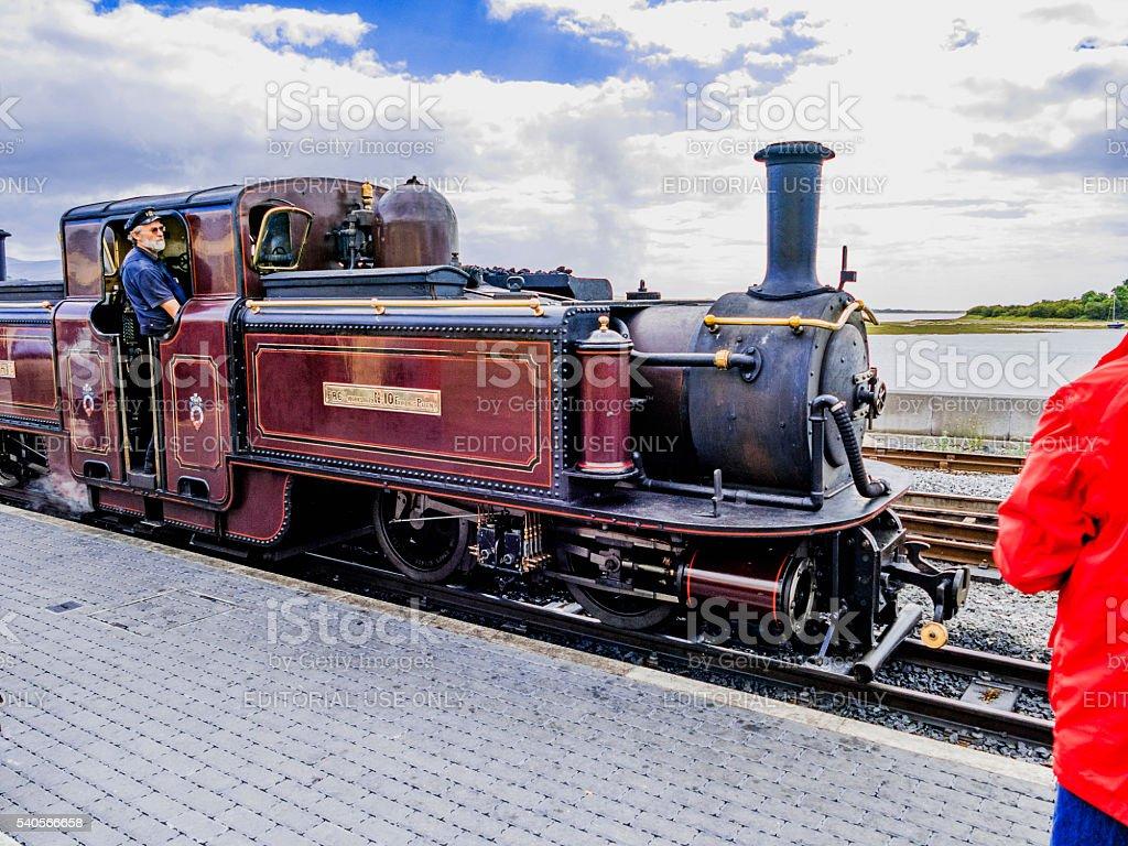 ffestiniog railway stock photo